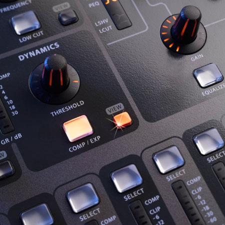 Các phím chức năng tiện dụng của bàn Mixer Behringer X32 EU