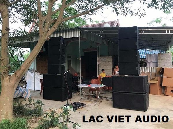 Mua loa array Trung Quốc phục vụ mục đích đám cưới