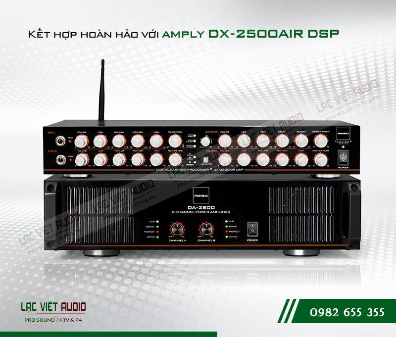 Kết hợp Amply Paramax DA-2500