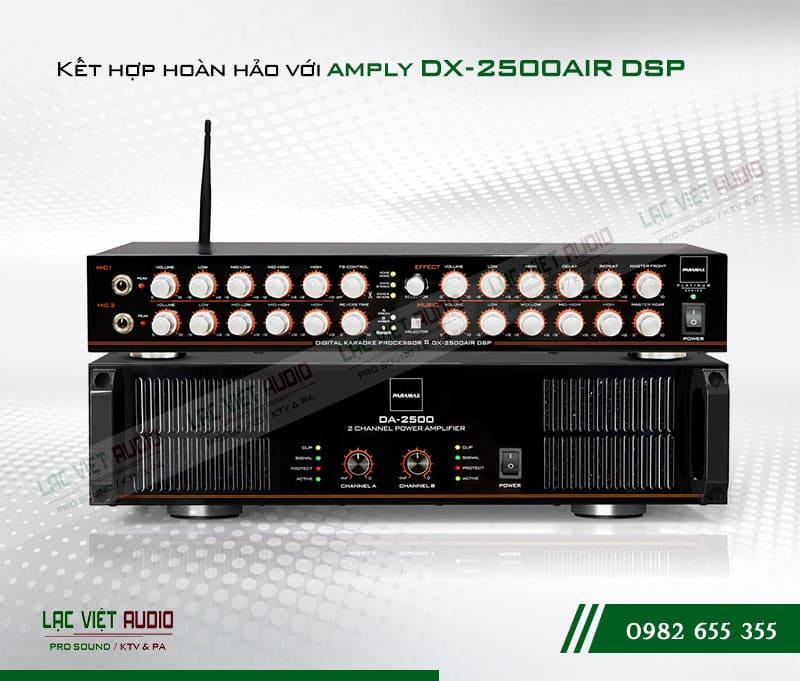 kết hợp Amply Paramax DX-2500 AIR