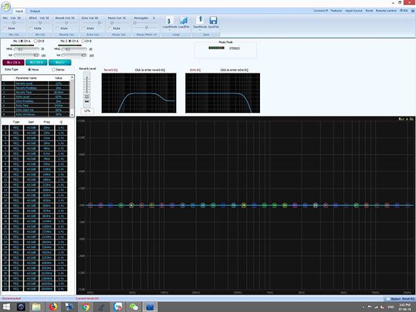 Phần mềm điều chỉnh Vang số DB S750