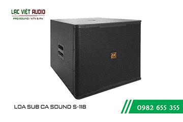 Loa sub CA Sound S-118