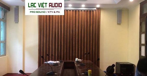 Cung cấp thiết bị âm thanh cho phòng họp Viện nghiên cứu