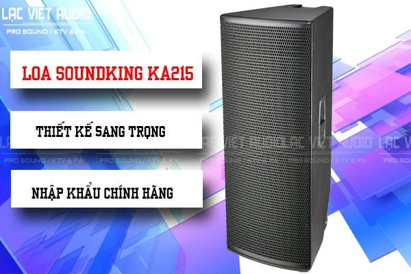 Thiết kế Loa soundking KA215