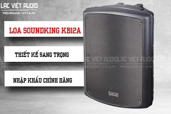 Thiết kế Loa Soundking KB12A sang trọng