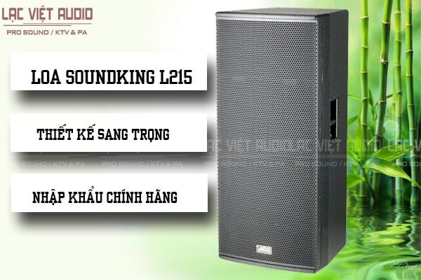 Thiết kế Loa soundking L215