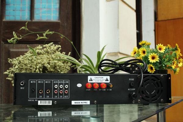Thiết kế mặt sau Amply DB LP-150F