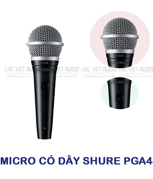 Thiết kế sản phẩm micro có dây Shure PGA48