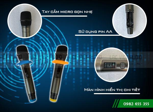 Thiết kế sản phẩm Micro Baomic BM8500