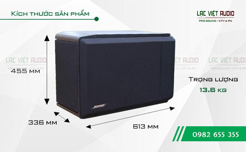 Kích thước Loa Bose 301 seri IV