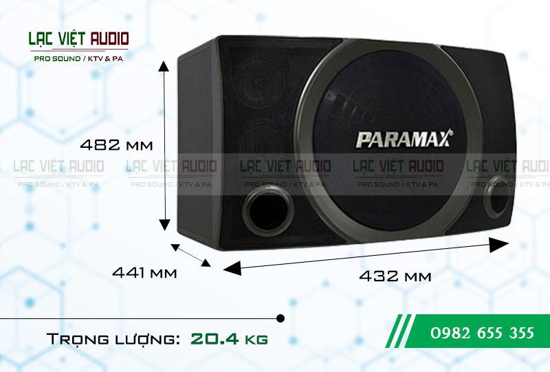Thiết kế Loa Paramax SC-2500 NEW