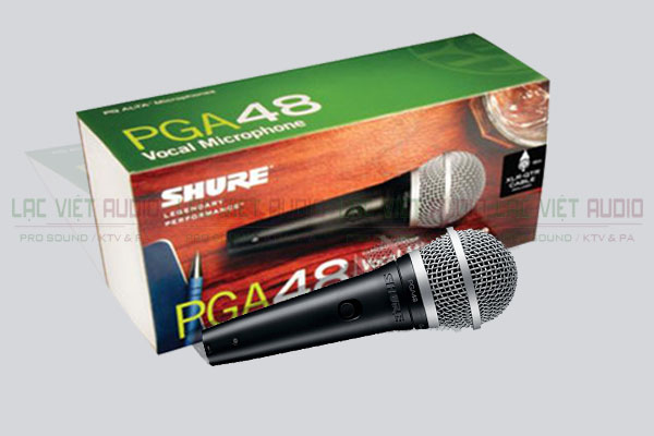 Tinh năng sản phẩm Micro có dây Shure PGA48