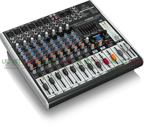 Tính năng Mixer Behringer Xenyx X-1222USB