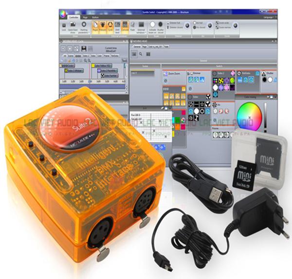 Trọn bộ sản phẩm Card điều khiển Sunlite 2