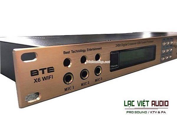 Vang số BTE X6 Lạc Việt Audio